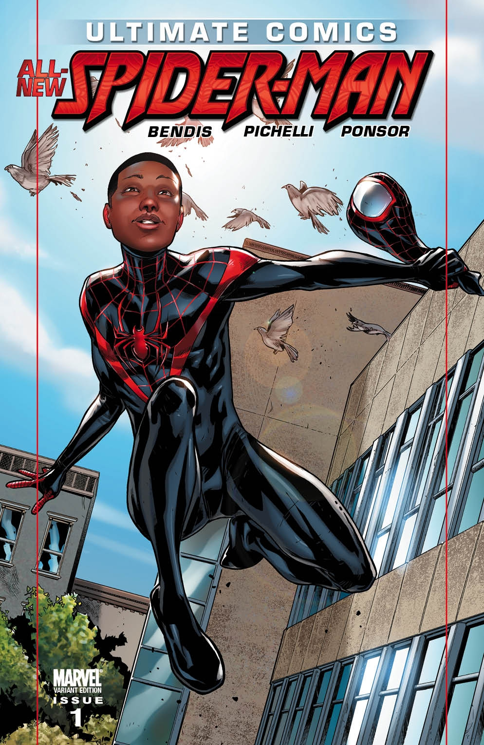 Black Spiderman Comic Another directi...