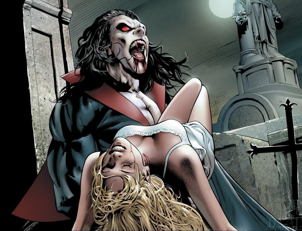 Vampire movievilla in xxx comic