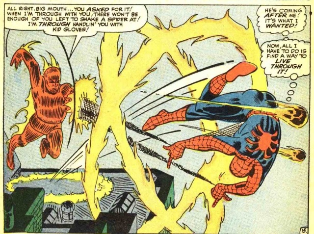 Amazing Spider-Man 21 Spidey VS The Torch