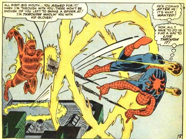 Amazing Spider-Man 21 Spidey VS The Torch