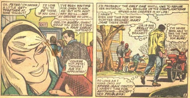 Amazing Spider-Man 50 Private Life Complications