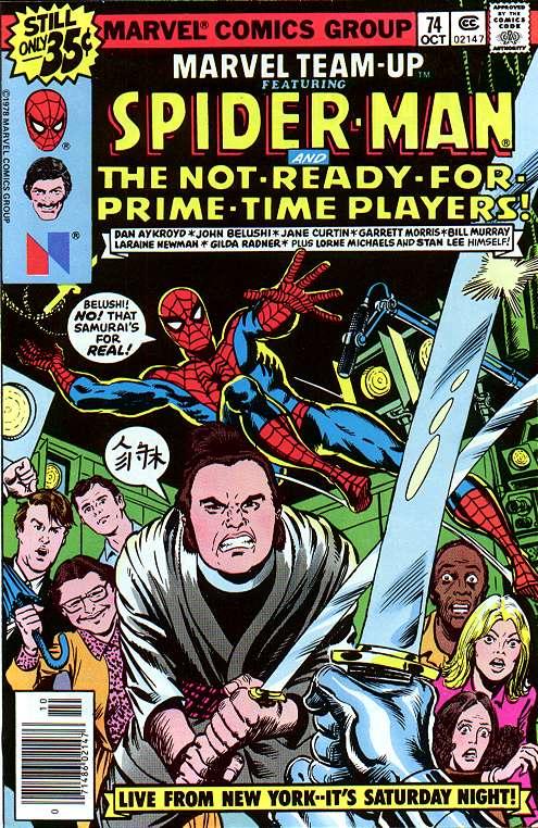 Marvel Team Up Saturday Night Live