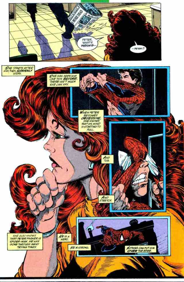 Mary Jane in Todd Mcfarlane's Torment