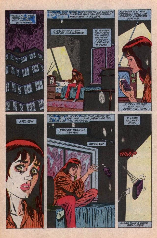 Web Of Spiderman 032-17 MJ