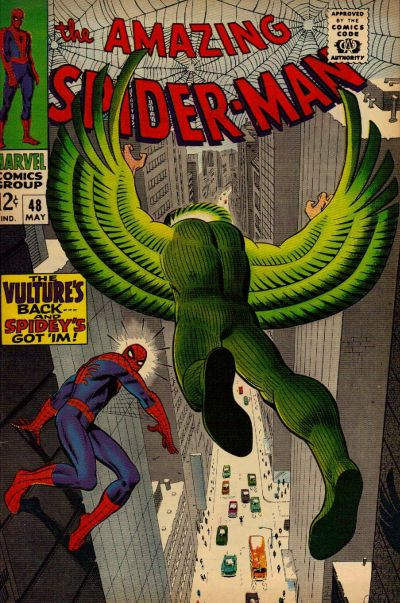 amazing spider-man #48 vulture