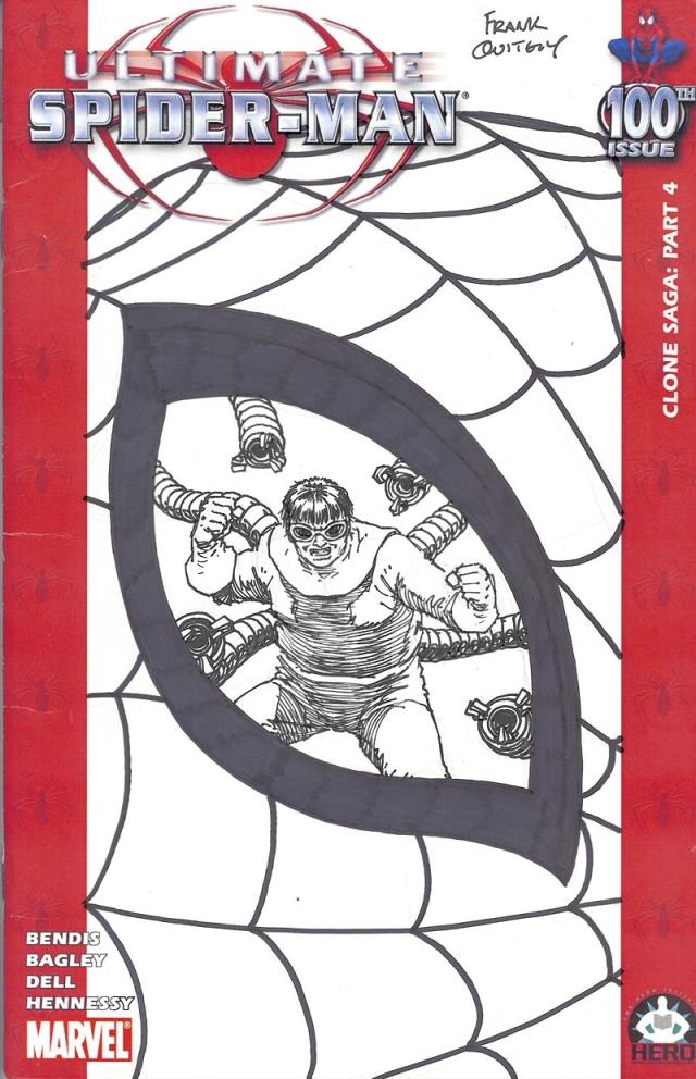 Frankn Quitely spiderman 100 cover