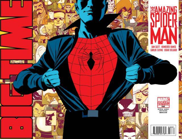 spider-man big time