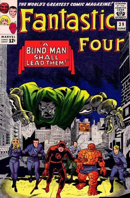 Daredevil Blind Man
