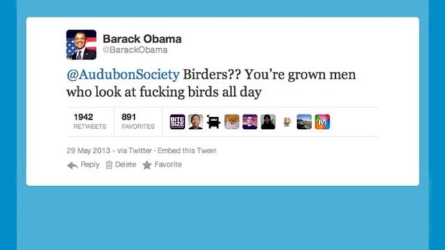 Obama Audobon