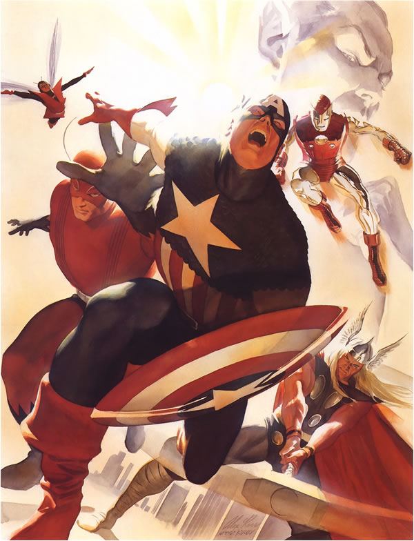 Alex Ross Captain America