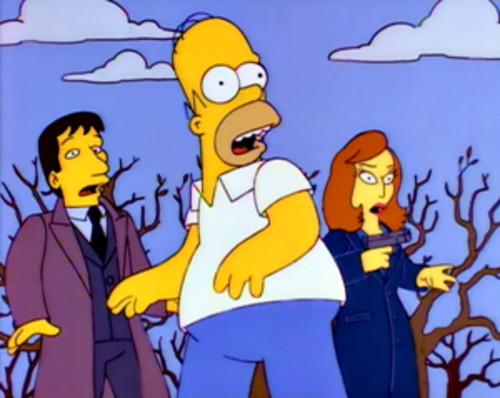 Simpsons X-Files