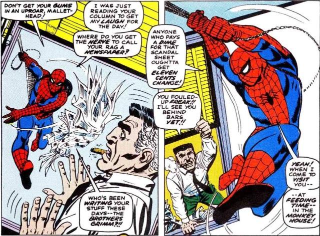 Amazing Spider-Man 53 Jonah
