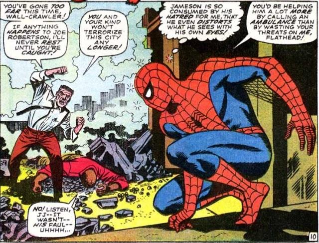 Amazing Spider-Man 64 Crazed Jonah