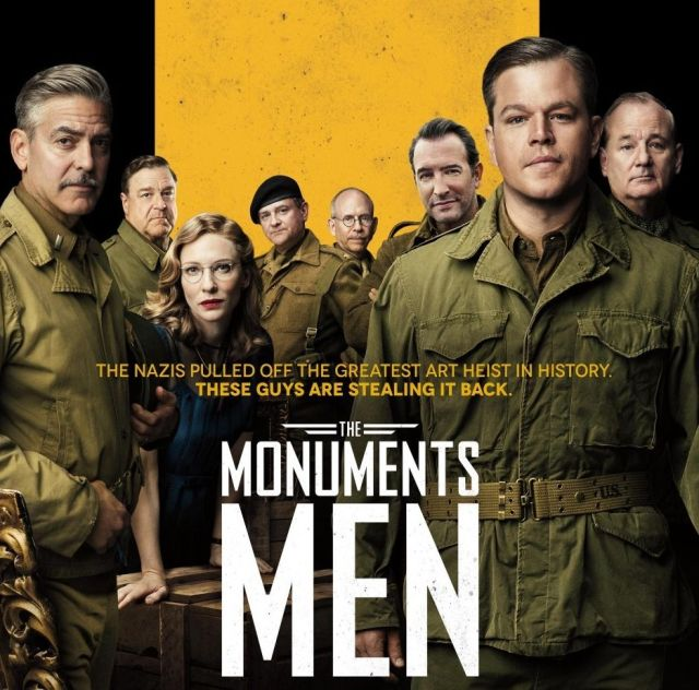 Monuments Men opening today with 31% positive reviews at Rotten Tomatoes