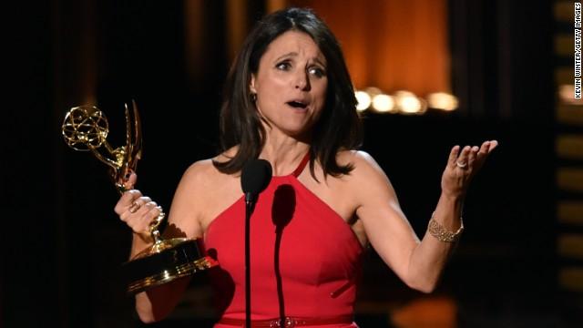 Julia Louis Dreyfus at the Emmys