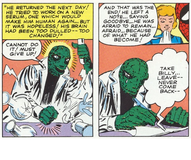 Steve Ditko's Crying Lizard