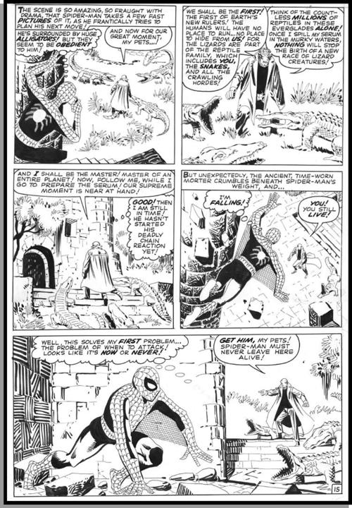 Black & white page from Amazing Spider-Man #6 by Steve Ditko