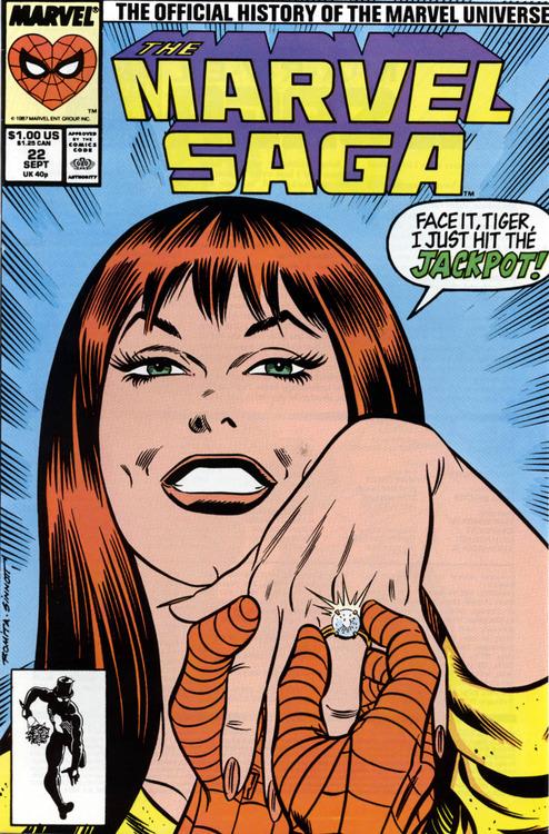 Romita Marvel Age MJ