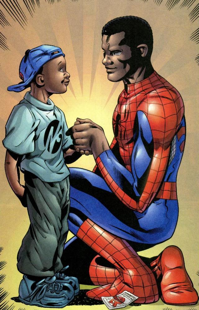 African-American Spider-Man