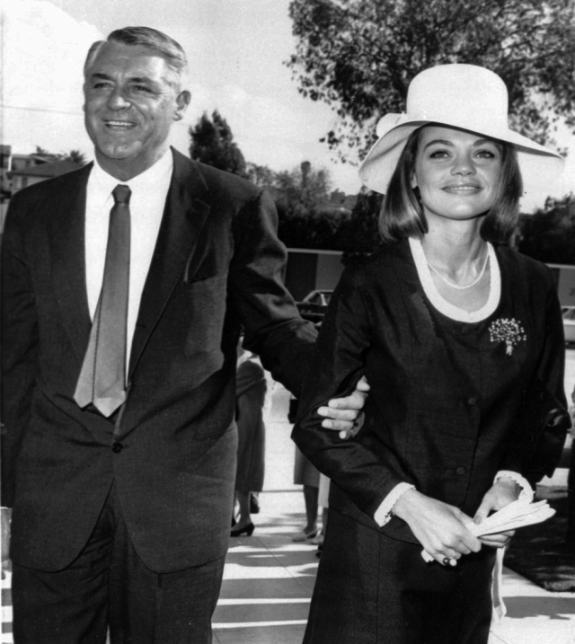 Cary Grant and Dyan Cannon