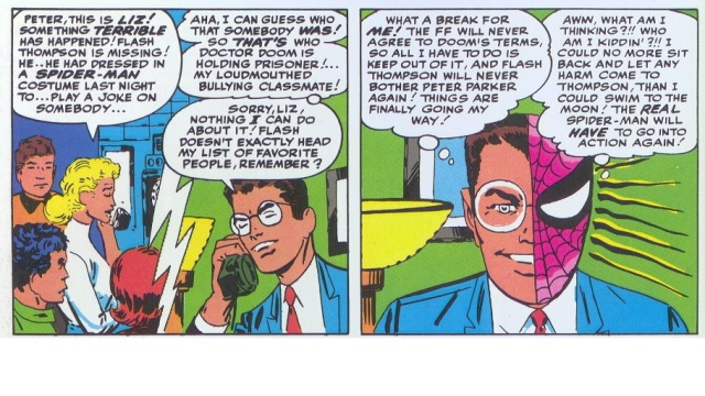 Best Spider-Man panel by Stan Lee and Steve Ditko