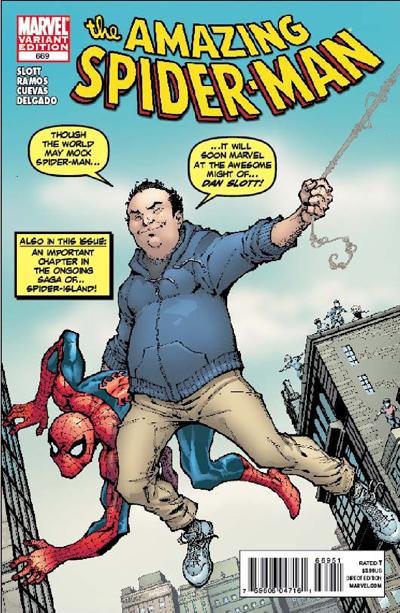 Dan Slott Spider Island cover