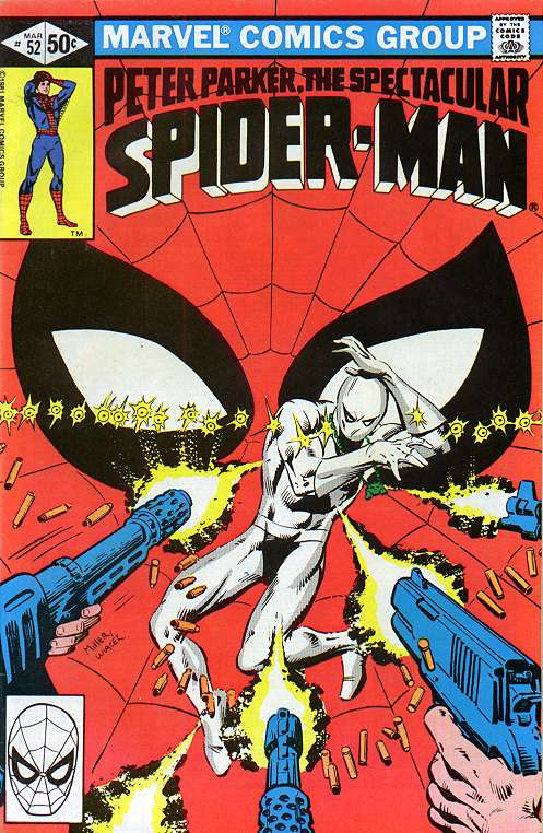 White Tiger on the cover of Peter Parker the Spectacular Spider-Man #52