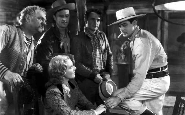 Only Angels Have Wings (1939)  Directed by Howard Hawks Shown seated: Jean Arthur, Standing from left: Sig Ruman, Allyn Joslyn, Noah Beery Jr., Cary Grant