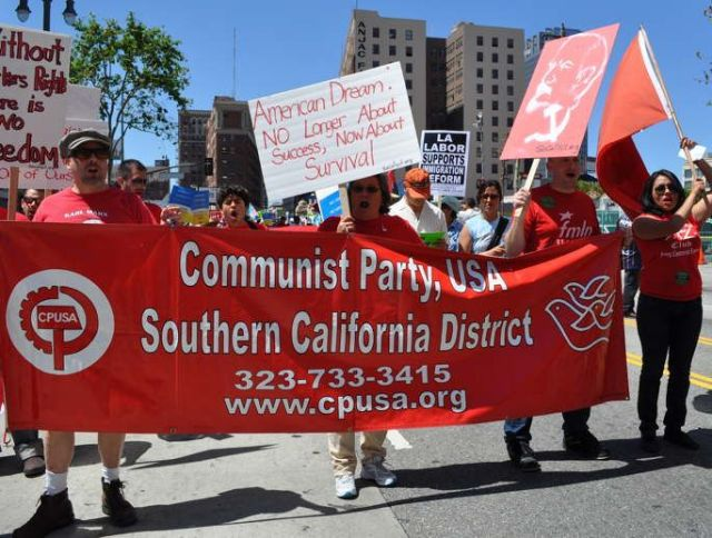 communist party california